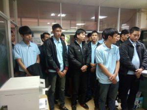 Đài Bắc:Tuyển 30 nữ xkld Đài Loan làm điện tử NM Nghi Long, ĐANG NHẬN FORM